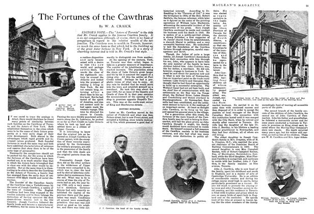 Article Preview: The Fortunes of the Cawthras, September 1914 | Maclean's
