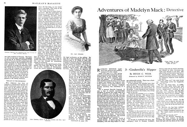 Article Preview: Adventures of Madelyn Mack: Detective, September 1914 | Maclean's