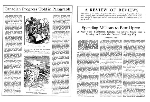Article Preview: Spending Millions to Beat Lipton, September 1914   Maclean's