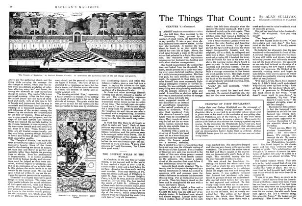 Article Preview: The Things That Count, September 1914 | Maclean's