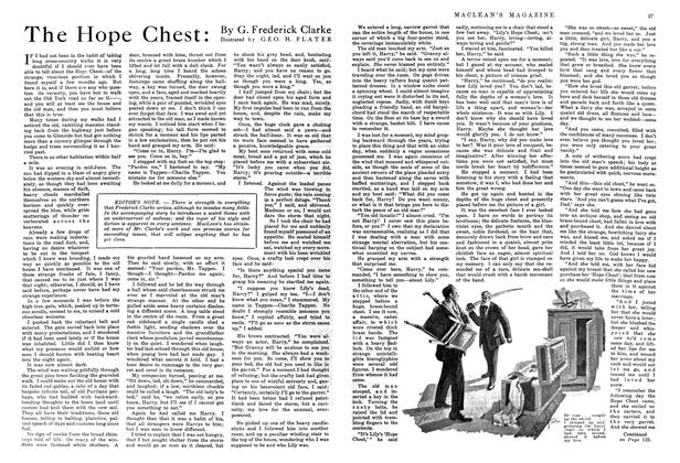 Article Preview: The Hope Chest, October 1914 | Maclean's