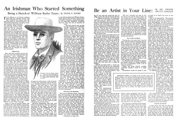 Article Preview: Be an Artist in Your Line, October 1914 | Maclean's