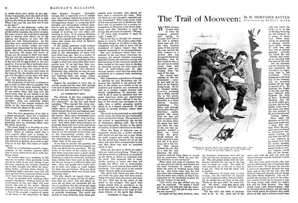 Article Preview: The Trail of Mooween, October 1914 | Maclean's