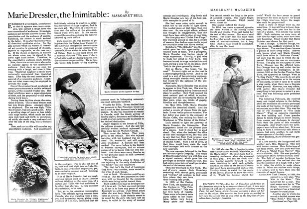 Article Preview: Marie Dressier, the Inimitable, October 1914 | Maclean's