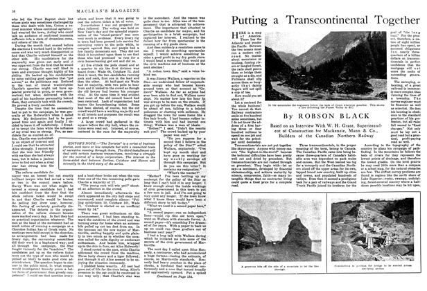 Article Preview: Putting a Transcontinental Together, October 1914 | Maclean's
