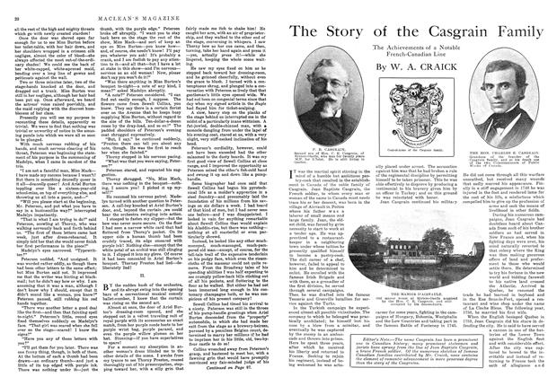 Article Preview: The Story of the Casgrain Family, November 1914 | Maclean's