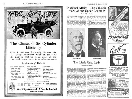 Article Preview: The Little Gray Lady, December 1914 | Maclean's