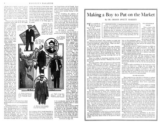 Article Preview: Making a Boy to Put on the Market, December 1914 | Maclean's