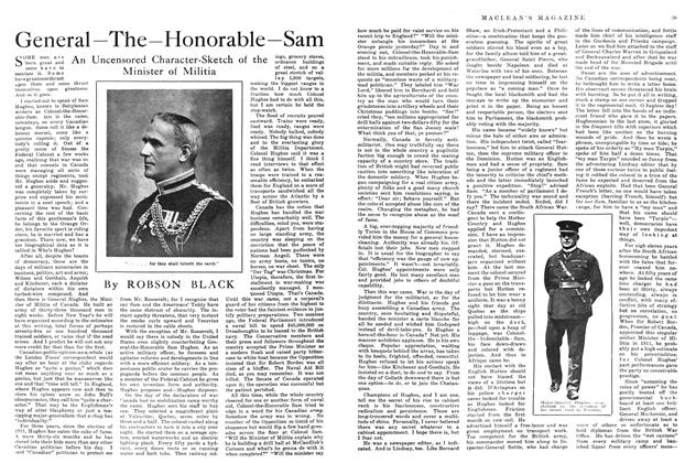 Article Preview: General—The—Honorable—Sam, January 1915 | Maclean's