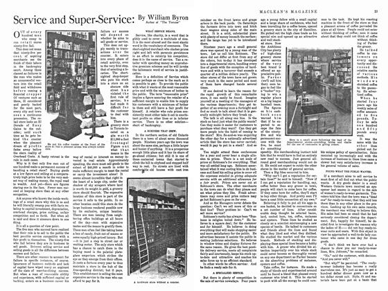 Article Preview: Service and Super-Service:, February 1915 | Maclean's