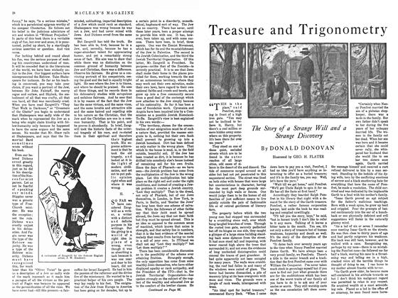 Article Preview: Treasure and Trigonometry, February 1915 | Maclean's