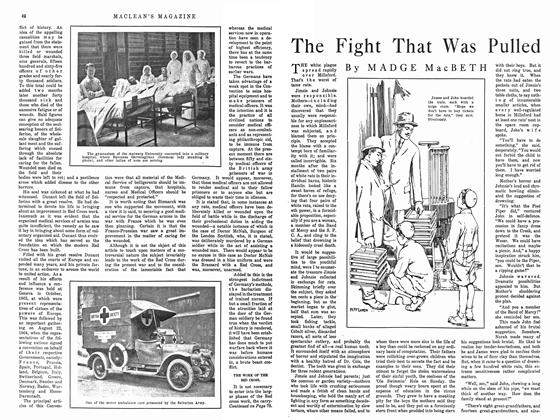 Article Preview: The Fight That Was Pulled, February 1915 | Maclean's