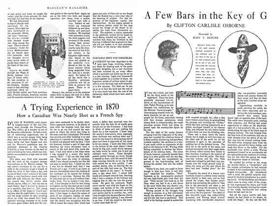 Article Preview: A Few Bars in the Key of G, February 1915 | Maclean's