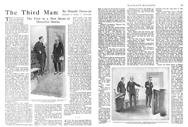 Article Preview: The Third Man: The First in a New Series of Detective Stories, March 1915 | Maclean's