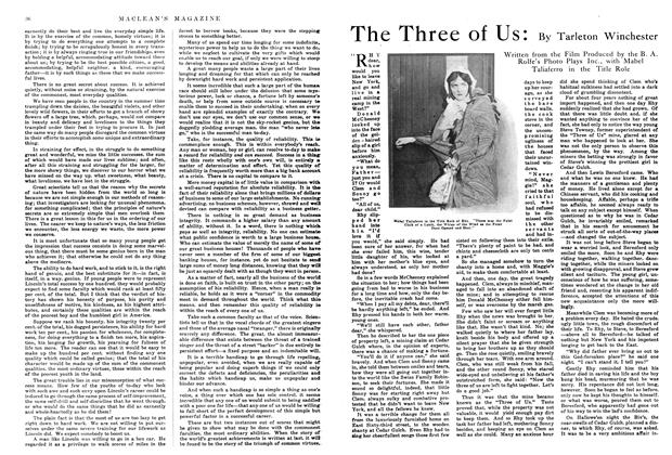 Article Preview: The Three of Us, March 1915 | Maclean's