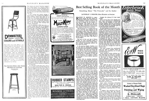 Article Preview: Best Selling Book of the Month, March 1915 | Maclean's