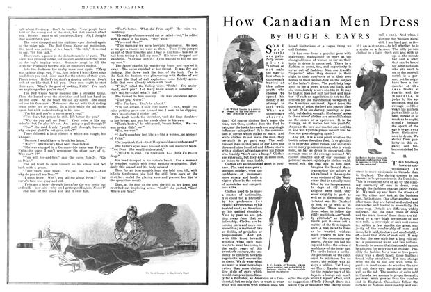 Article Preview: How Canadian Men Dress, March 1915 | Maclean's