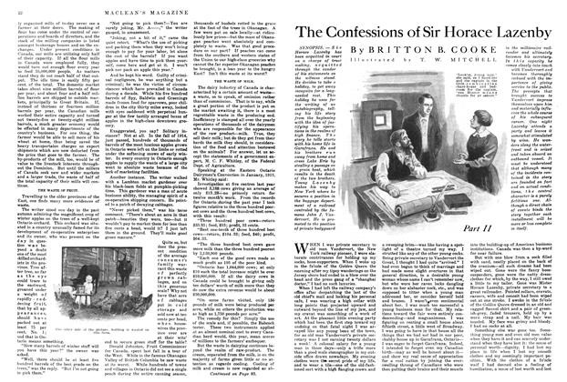 Article Preview: The Confessions of Sir Horace Lazenby, April 1915   Maclean's