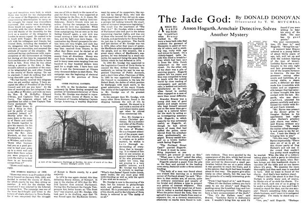Article Preview: The Jade God, April 1915 | Maclean's