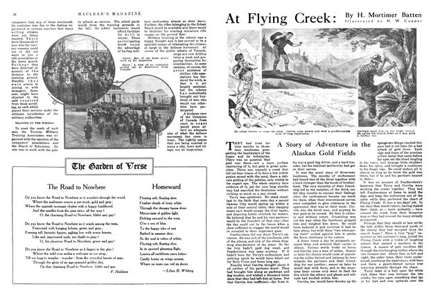 Article Preview: At Flying Creek, April 1915 | Maclean's