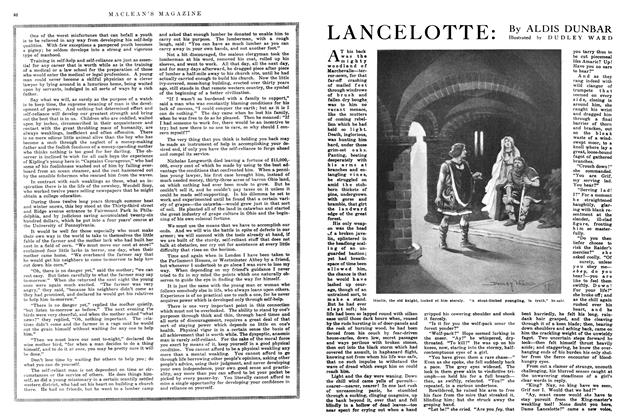 Article Preview: LANCELOTTE, April 1915 | Maclean's