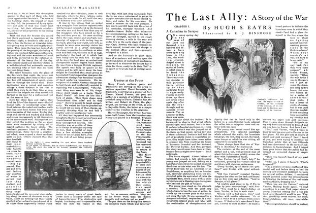Article Preview: The Last Ally, April 1915 | Maclean's