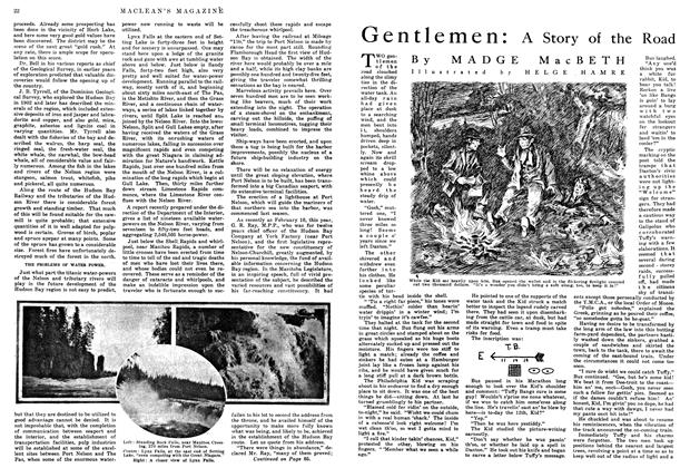 Article Preview: Gentlemen: A Story of the Road, May 1915 | Maclean's
