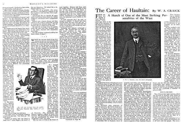 Article Preview: The Career of Haultain, May 1915 | Maclean's