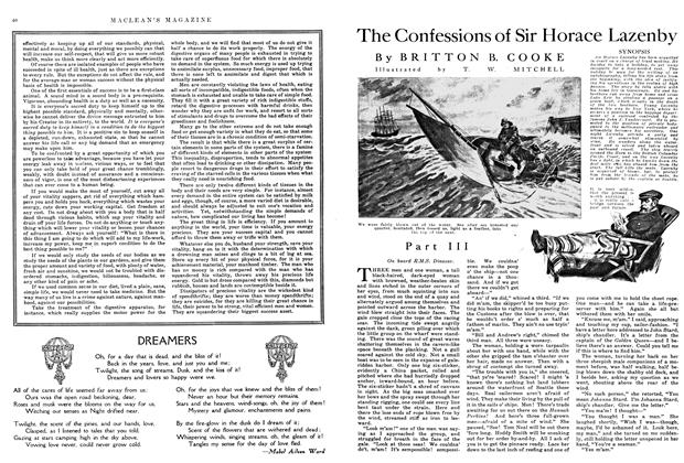 Article Preview: The Confessions of Sir Horace Lazenby, May 1915 | Maclean's