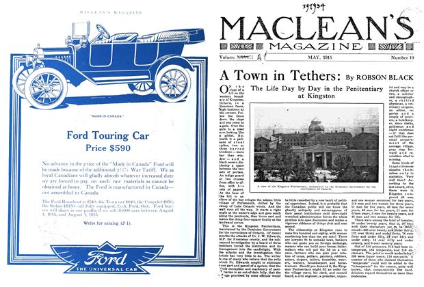 Article Preview: A Town in Tethers:, May 1915 | Maclean's