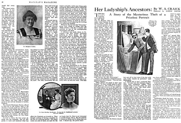 Article Preview: Her Ladyship's Ancestors, May 1915 | Maclean's