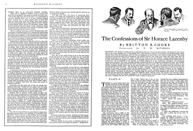 Article Preview: The Confessions of Sir Horace Lazenby, July 1915 | Maclean's