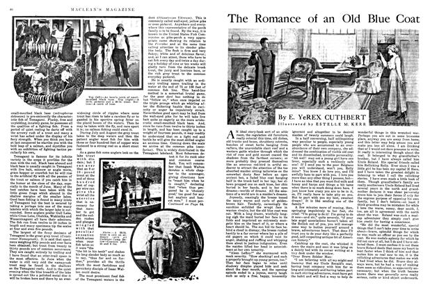 Article Preview: The Romance of an Old Blue Coat, July 1915 | Maclean's