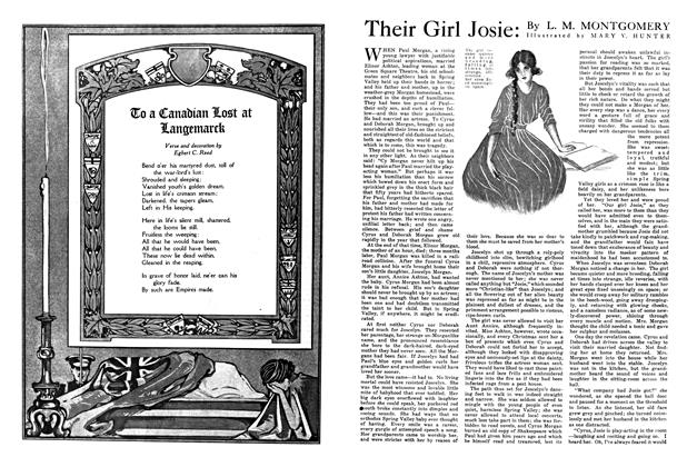 Article Preview: Their Girl Josie, July 1915 | Maclean's