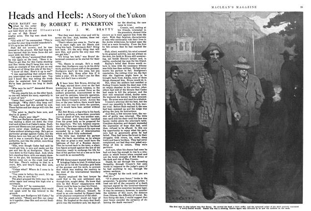Article Preview: Heads and Heels: A story of the Yukon, August 1915 | Maclean's
