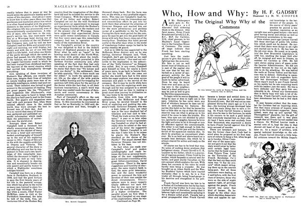 Article Preview: Who, How and Why:, August 1915 | Maclean's