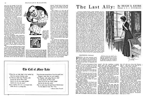 Article Preview: The Last Ally:, August 1915 | Maclean's