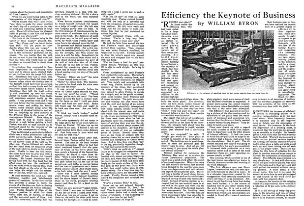Article Preview: Efficiency the Keynote of Business, August 1915 | Maclean's