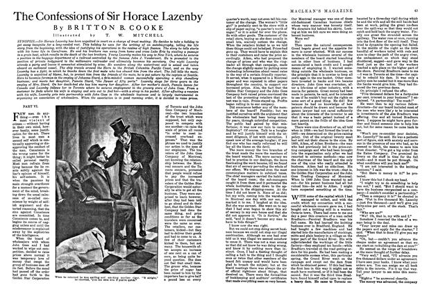 Article Preview: The Confessions of Sir Horace Lazenby, August 1915 | Maclean's