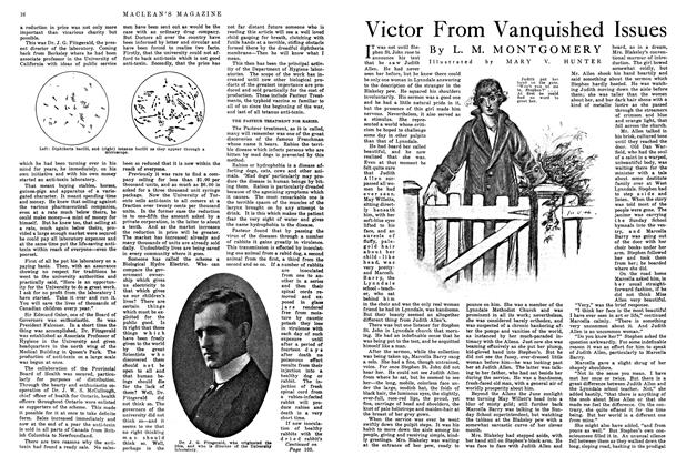 Article Preview: Victor From Vanquished Issues, August 1915 | Maclean's