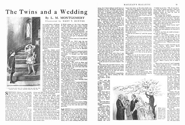 Article Preview: The Twins and a Wedding, September 1915 | Maclean's