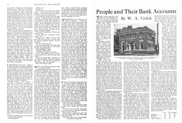 Article Preview: People and Their Bank Accounts, September 1915 | Maclean's
