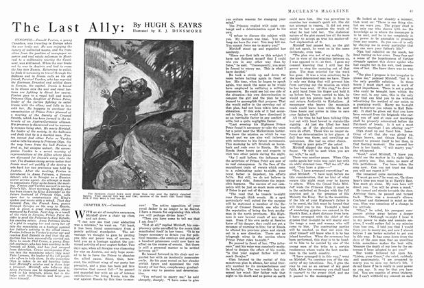 Article Preview: The Last Ally, September 1915 | Maclean's