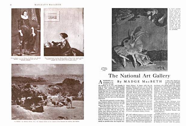 Article Preview: The National Art Gallery, September 1915 | Maclean's