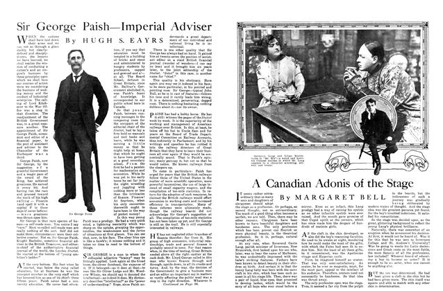Article Preview: A Canadian Adonis of the Stage, October 1915 | Maclean's