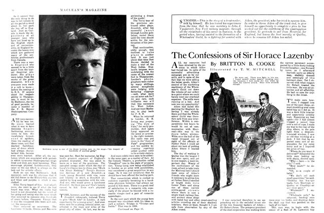 Article Preview: The Confessions of Sir Horace Lazenby, October 1915 | Maclean's