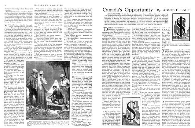 Article Preview: Canada's Opportunity, October 1915 | Maclean's