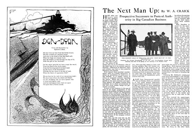 Article Preview: The Next Man Up, October 1915 | Maclean's