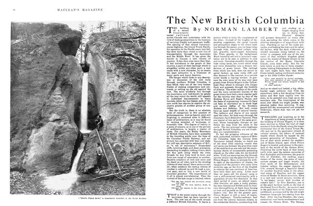 Article Preview: The New British Columbia, October 1915 | Maclean's