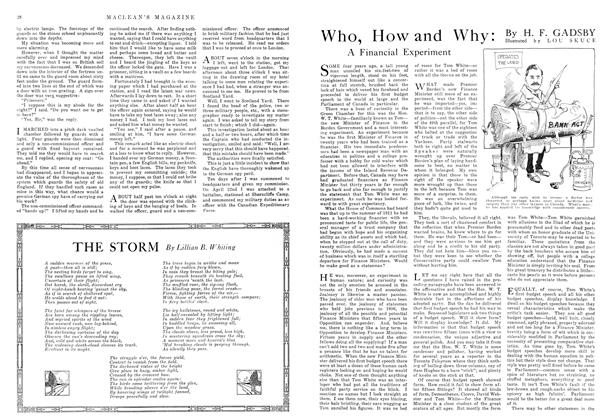Article Preview: Who, How and Why, November 1915 | Maclean's